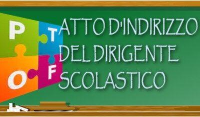 Atto d'Indirizzo triennio 2019/2020 – 2020/2021 – 2021/2022